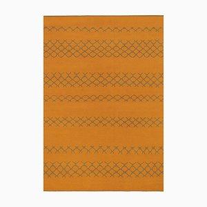 Alfombra Oma OR de tejido plano de lana de Kristiina Lassus