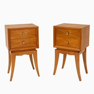 French Nightstands by Suzanne Guiguichon, 1970s