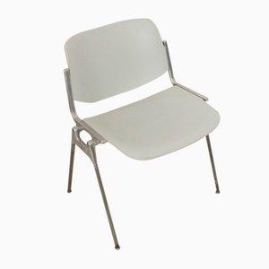 Vintage DSC 106 Chair by Giancarlo Piretti for Castelli