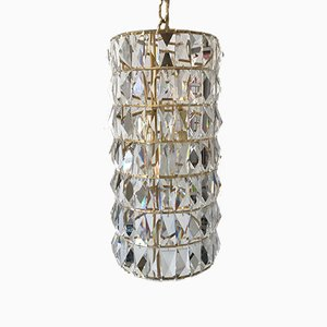 Crystal Glass Pendant from Bakalowits & Söhne, 1960s