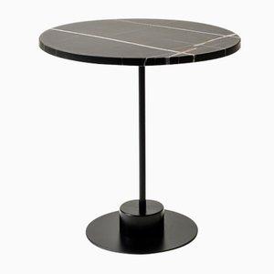 Table Basse Charlie en Marbre Sahara Noir par Alessio Elli pour Elli Design