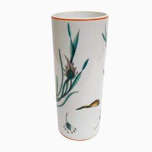 Vaso in porcellana di Robert Piotet, anni '60