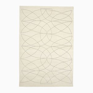 Akana WH Hand-Knotted Rug in Wool & Bamboo Silk by Kristiina Lassus