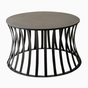 Table d'Appoint Joy en Pierre Savoy Laminam par Alessio Elli pour Elli Design