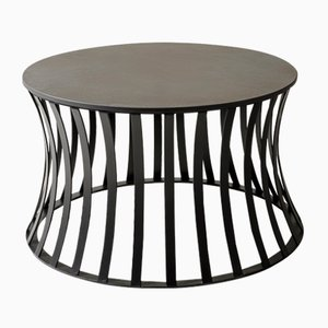 Tavolino Joy in Laminam e pietra di Savoia di Alessio Elli per Elli Design