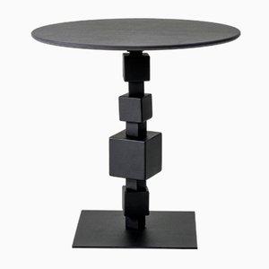 Table Basse NoLita en Pierre Savoy Laminam par Alessio Elli pour Elli Design