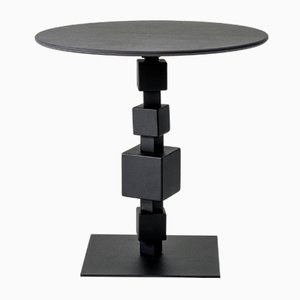 Tavolino da caffè NoLita in Laminam e pietra di Savoia di Alessio Elli per Elli Design