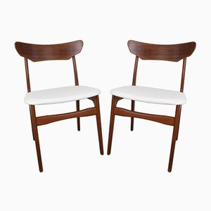 Danish Teak Dining Chairs by Schiønning & Elgaard for Randers Møbelfabrik, 1960s, Set of 2