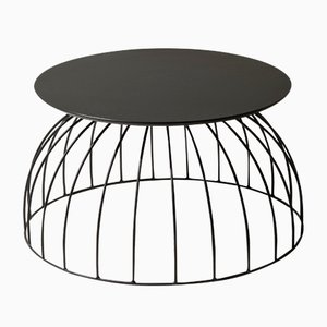 Table d'Appoint Washington Fenix Nero NTM par Alessio Elli pour Elli Design