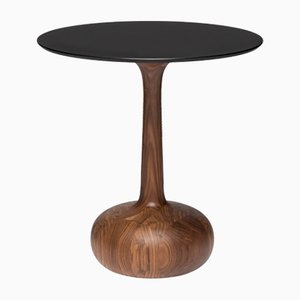 Gineva Canaletto Coffe Table in Walnut with Fenix NTM Top by Alessio Elli for Elli Design