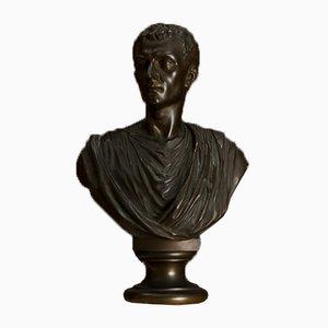 Antike italienische Römer Büste aus Bronze