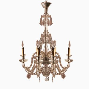 French Crystal Chandelier from Saint Louis, 1870s