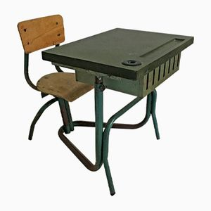 Vintage Metal and Bakelite Children's Desk, 1950s