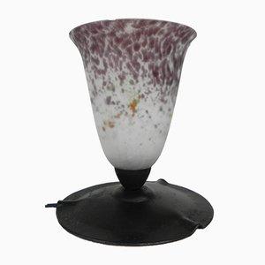 Lámpara de escritorio Art Déco con luz superior