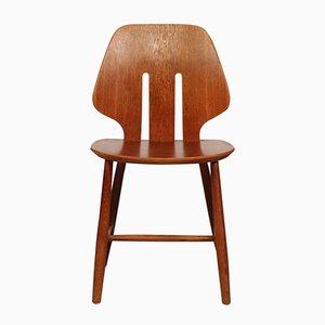 Modell J 67 Stuhl aus Eiche von Ejvind A Johansson für FDB, 1950er