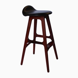 OD61 Bar Stool by Erik Buch for Oddense, 1960s