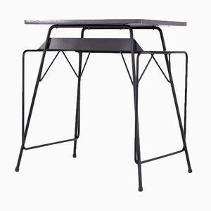 Schreibtisch aus Stahl von Friso Kramer & Willy van der Meeren für Ahrend De Cirkel, 1960er
