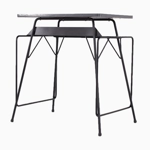 Steel Desk by Friso Kramer & Willy van der Meeren for Ahrend De Cirkel, 1960s