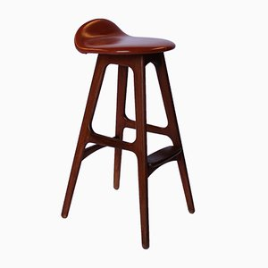 Od61 Bar Stool By Erik Buch For Oddense 1960s