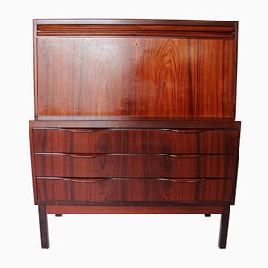 Rosewood Secretaire by Erling Torvits for Klim, 1960s