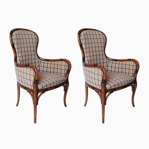 Danish Armchairs, 1940s, Set of 2