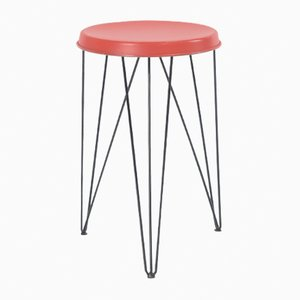 Vintage Hairpin Stool by Tjerk Reijenga for Pilastro