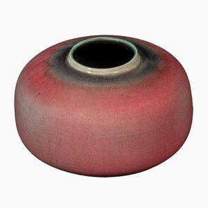 French Ceramic Vase by Georges Jouve, 1950s