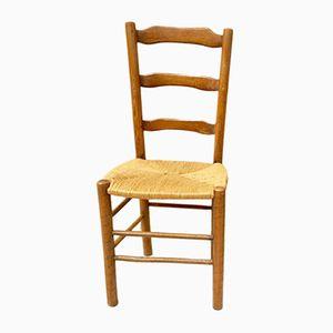 Antike rustikale französische Stühle, 1900er, 8er Set
