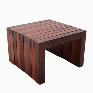 Modular Teak Side Table, 1970s
