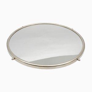 Vassoio girevole a specchio, anni '60