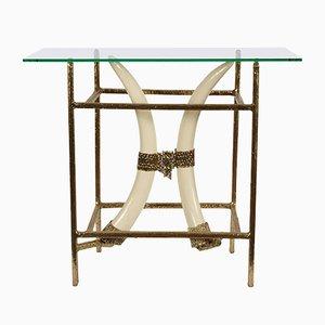 Table Console par Henri Fernandez, 1970s