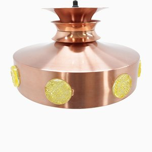 Lámpara colante danesa Mid-Century