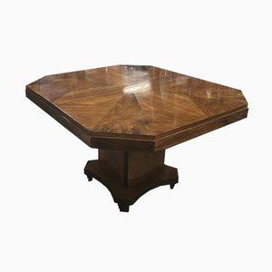 Art Deco Table in Walnut, 1930s