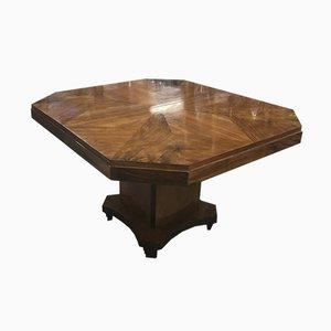 Art Deco Tisch aus Nussholz, 1930er