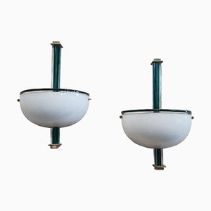 Wall Lamps from Venini, 1990s, Set of 2