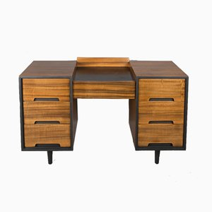 Walnut Cumberland Range Desk or Dressing Table by John & Sylvia Reid for Stag, 1950s