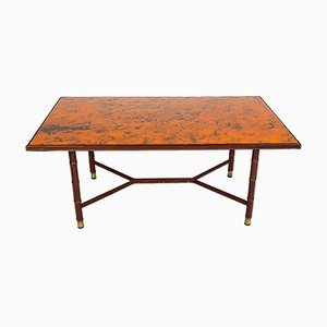 Large Vintage Cocktail Table by Jacques Adnet
