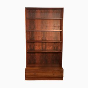 Rosewood Bookshelf by Bertil Fridhagen for Bodafors, 1960s