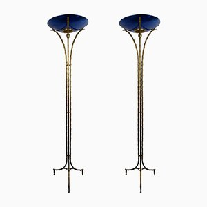 Floor Lamps from Maison Baguès, 1970s, Set of 2