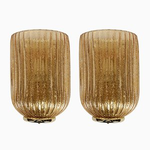 Murano Glass Sconces, 1970s, Set of 2