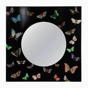 Vintage Butterfly Mirror by Atelier Fornasetti