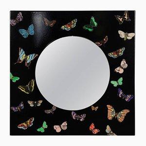 Vintage Schmetterling Spiegel von Atelier Fornasetti