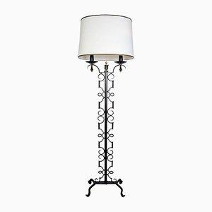 Floor Lamp by Paul Kiss, 1940s