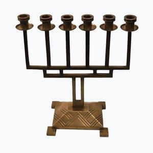 Brass Candelabra, 1930s