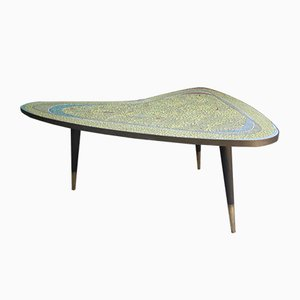 Mosaic Kidney Table, 1950s
