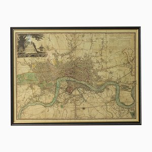 Map of 1892 London, 1950s