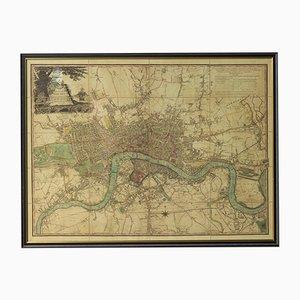 Mappa di Londra nel 1892, anni '50