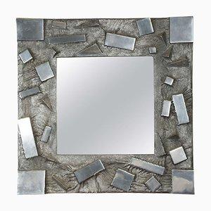 Gussaluminium Spiegel von Martens, 1970er