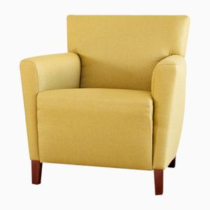 Vintage Yellow Armchair, 1960s