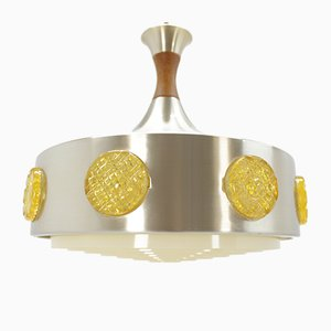 Lámpara colgante danesa Mid-Century